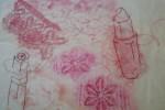 Lipsitck and lace