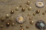 Jewel and sheesha detail