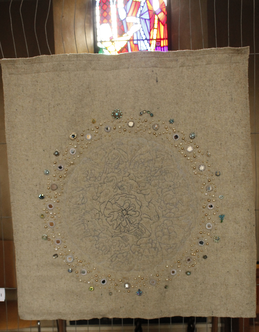 Star Gazing Embroidery and jewels
