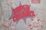 Super creams embroidery