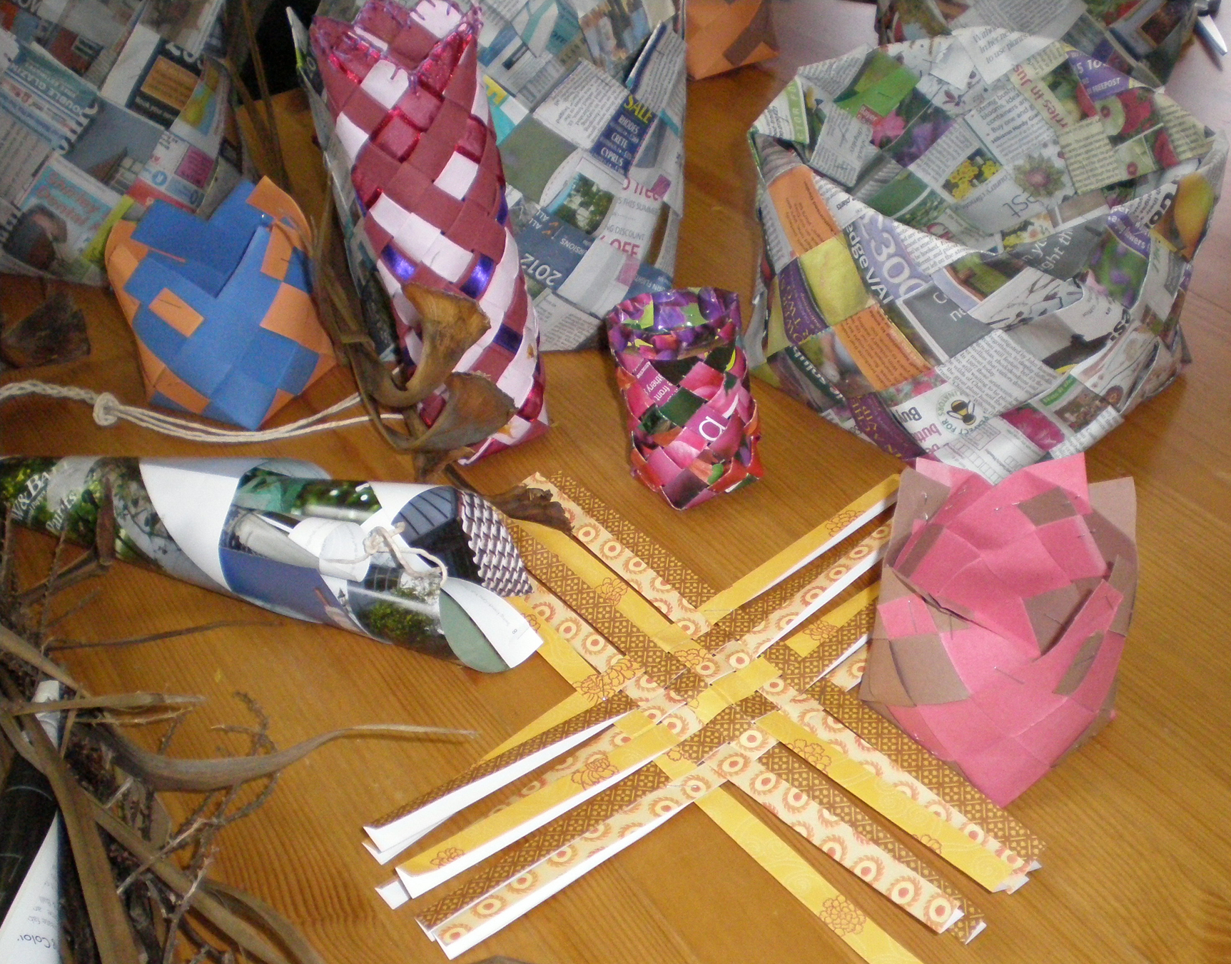 A selection of baskets
