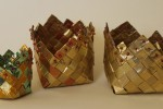 Chocolate foil baskets