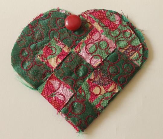Woven Heart purse