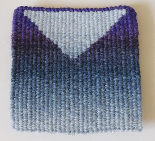 Blue-Purple colour blend design