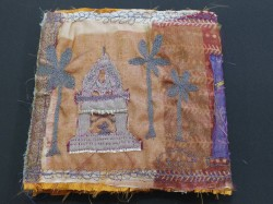 Indian map design - the jacket front