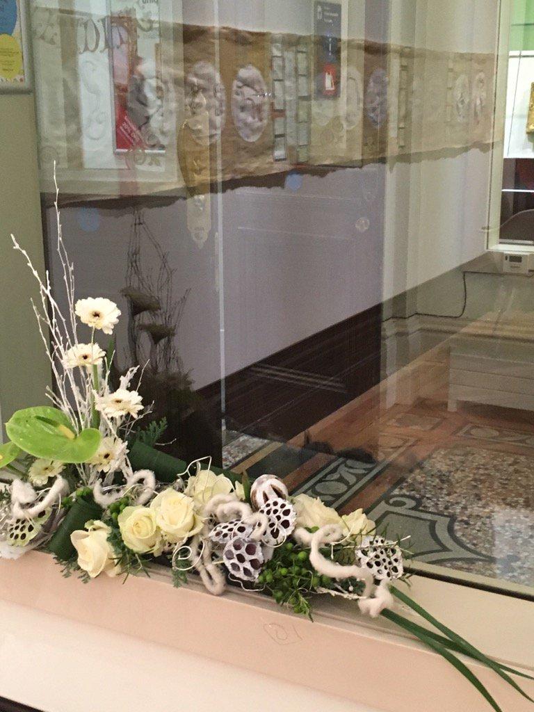 Joann's floral display