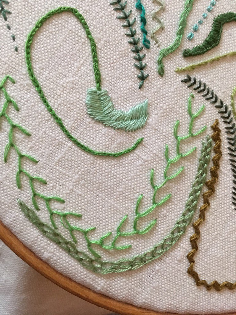 Day 15 Double Chain Stitch