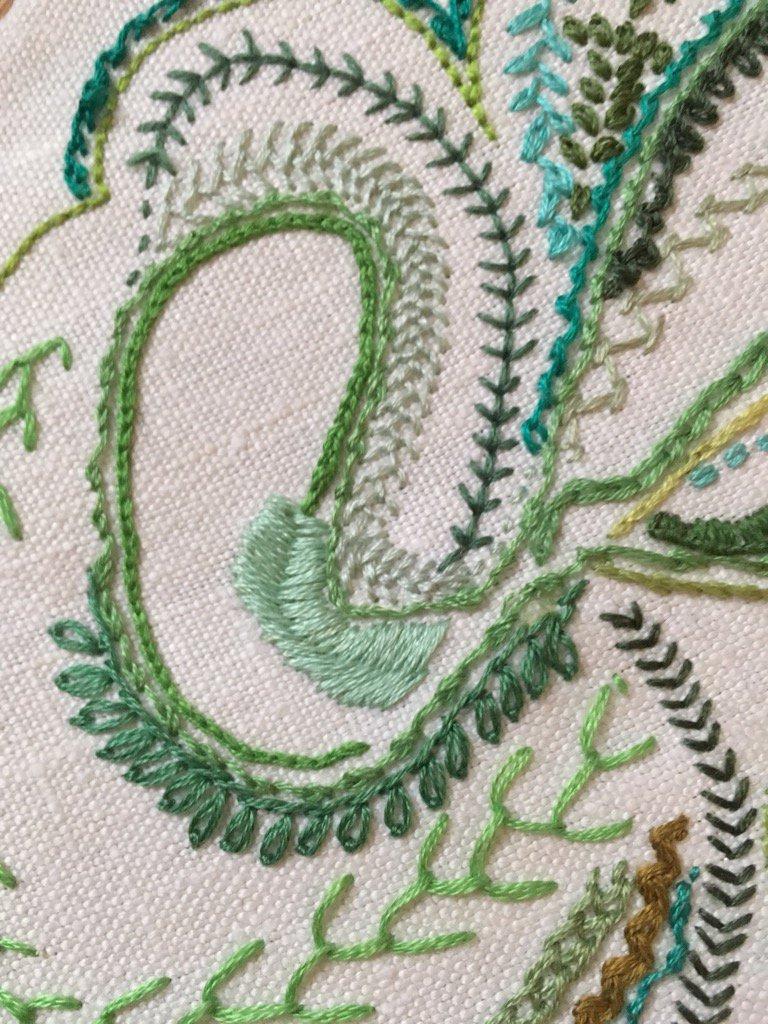 Day 25 Petal Stitch