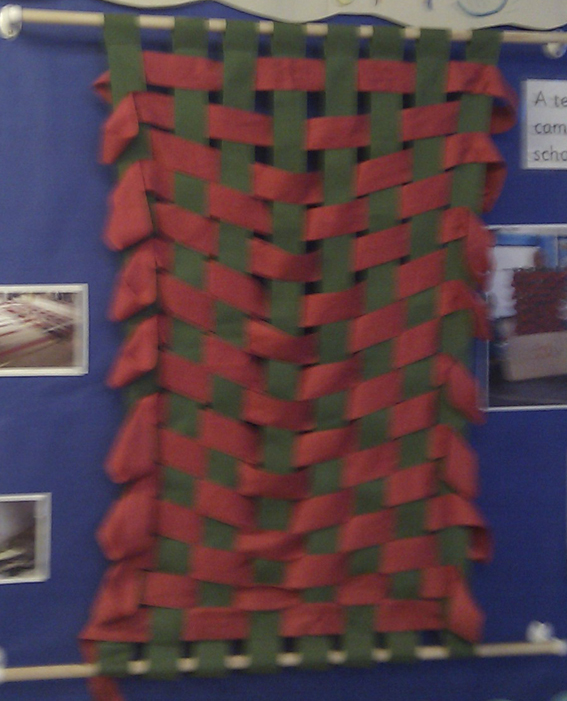 West Rise, Eastbourne, Large weaving