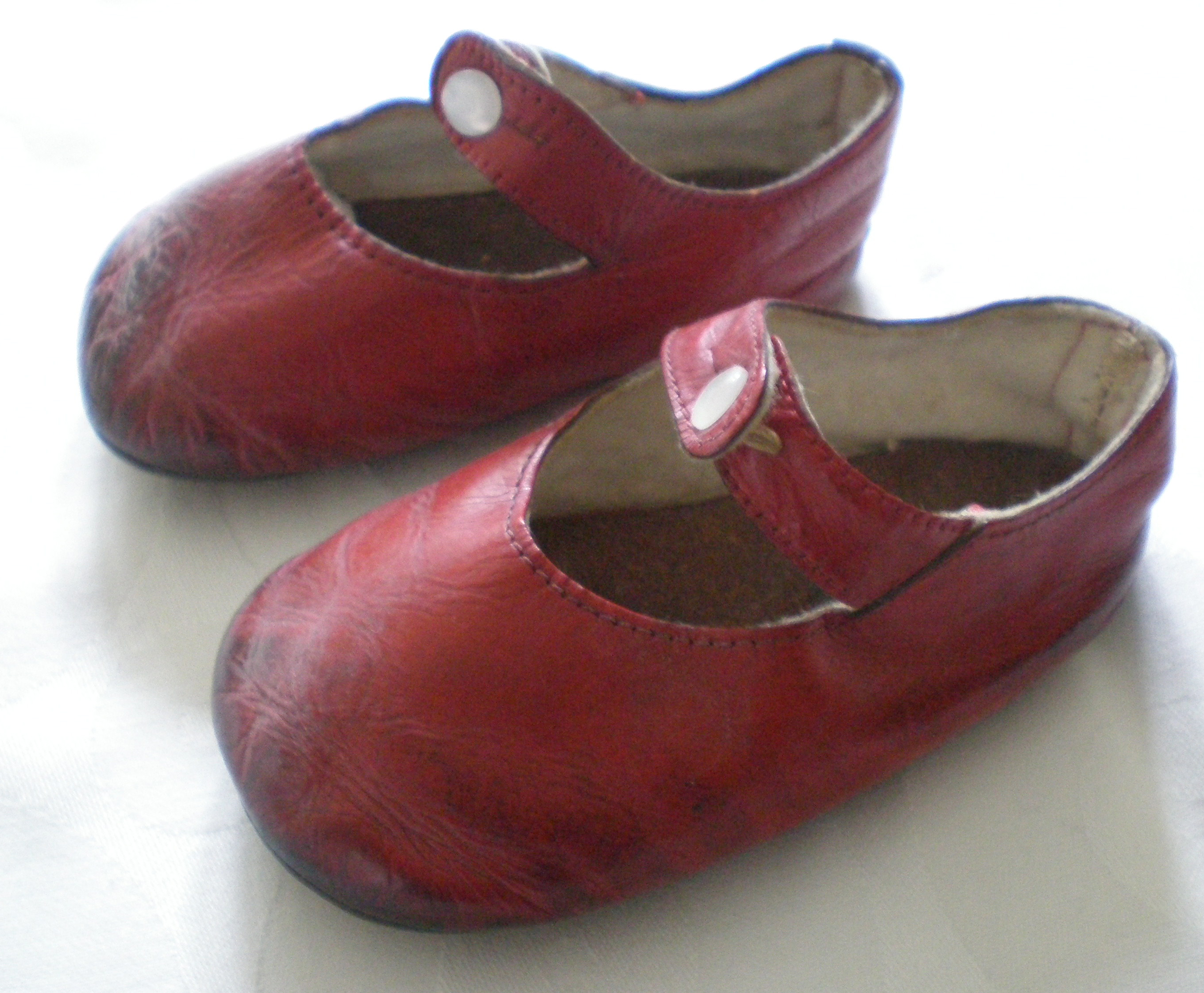 First red shoes