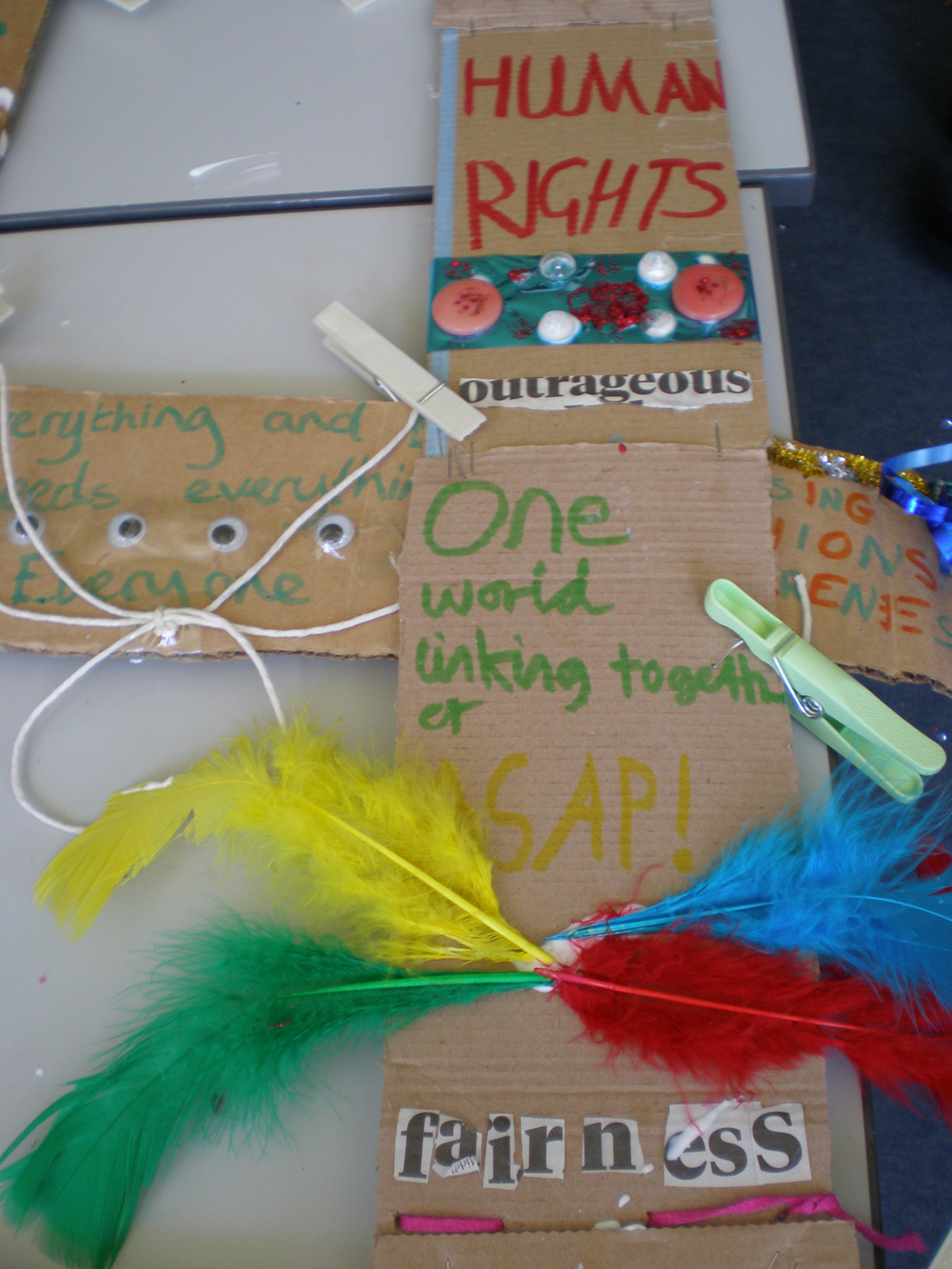 Pestalozzi Global dimensions day Human Rights messages