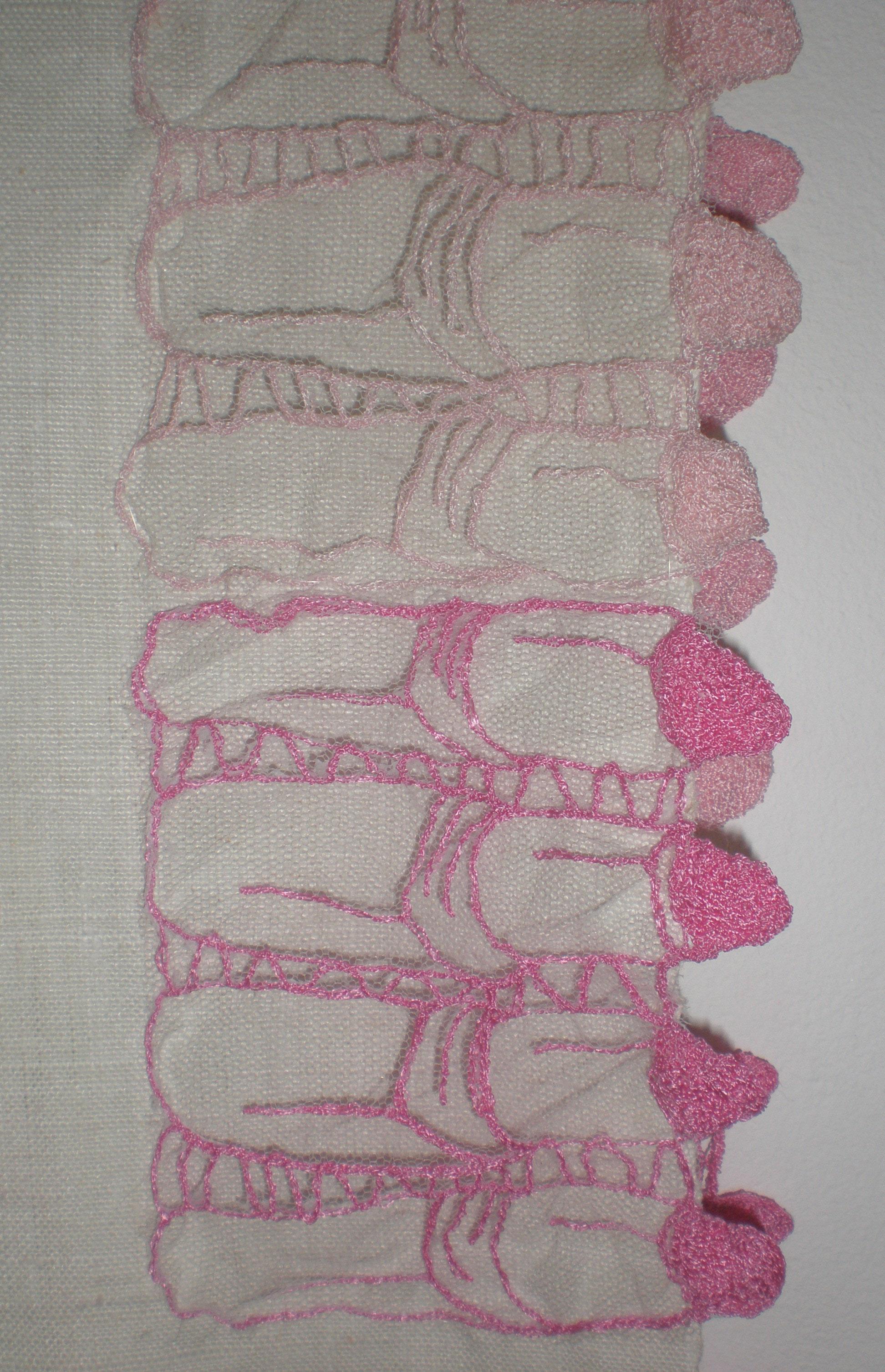 Lipstick lace