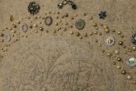 Stitch and jewel detail