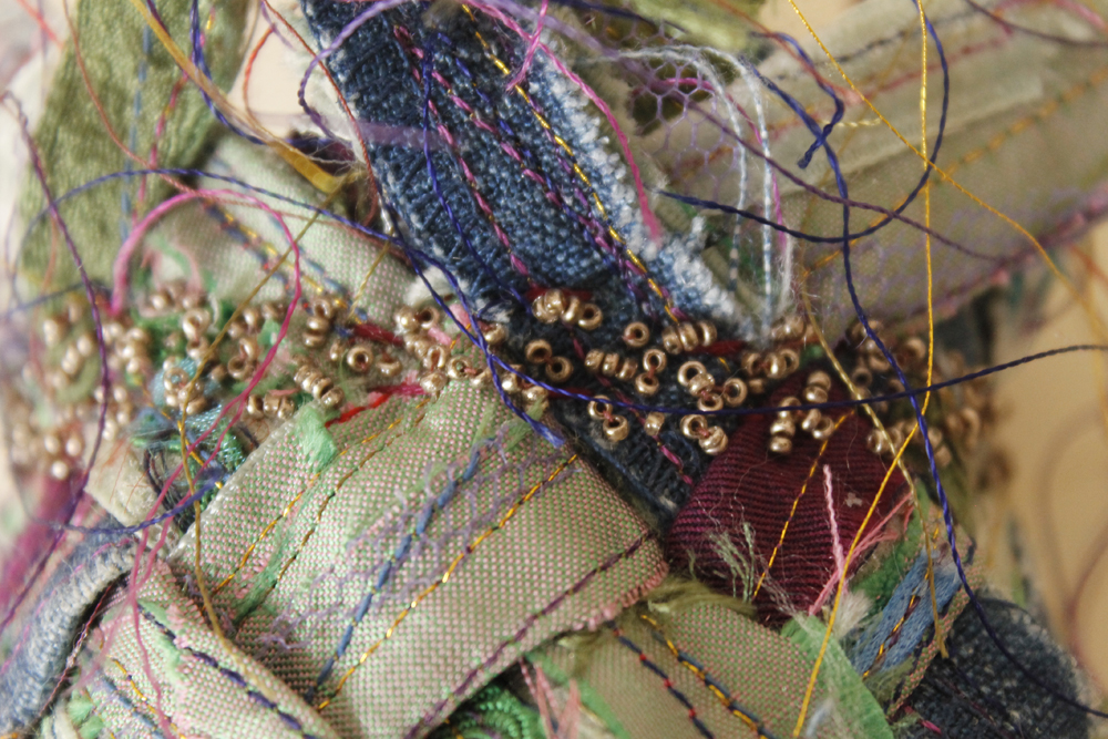 Beads-weave detail