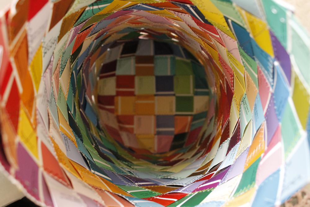 Inside the Paint Chart  basket