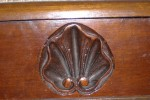 Carved shell on the Music stool