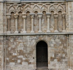 Canterbury Cathedral- columns & arches