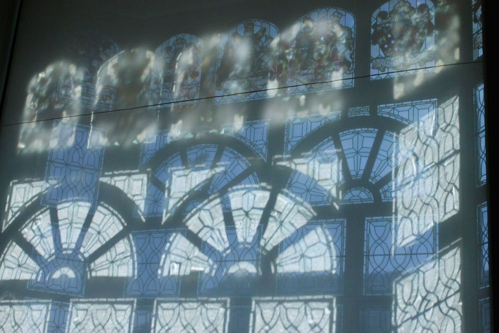 The Beaney - window shadows