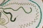 Day 10 Twisted Chain Stitch