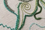 Day 26 Back Stitched Chain