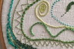 Day 29 Whipped Stem Stitch