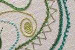Day 30 Taylor's Buttonhole Stitch