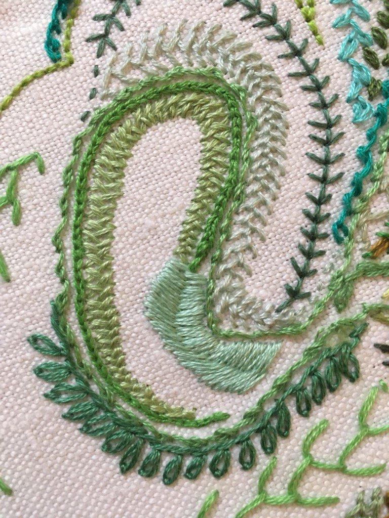 Day 31 Double Back Stitch
