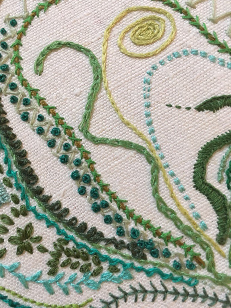 Day 36 French Knot