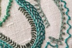 Day 35 Crested Chain Stitch