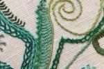 Day 40 Roumanian Stitch