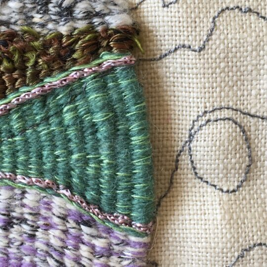 Experimental weave and stich